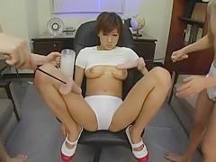 Exotic Japanese chick Aiko Morishita in Horny Dildos/Toys, Panties JAV movie