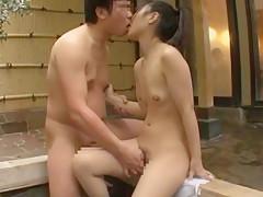 Horny Japanese chick in Hottest Fingering, Showers JAV movie