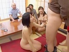 Incredible Japanese slut Yurie Shinohara, Arisu Hatsumi, Riri Kouda in Amazing Blowjob, Small Tits JAV video