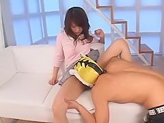 Incredible Japanese girl Rino Konno in Horny Fetish JAV movie