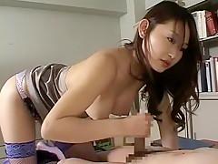 Hottest Japanese girl Shion Amane in Horny Cumshots, Doggy Style JAV scene