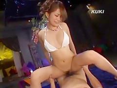 Incredible Japanese chick Nao Yoshizaki in Fabulous Cougar, POV JAV scene