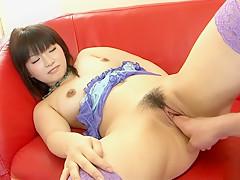 Hottest Japanese girl Akane Ozora in Best Fingering, Teens JAV scene