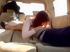 Fabulous Japanese chick Reira Minazuki in Hottest Blowjob, Secretary JAV clip