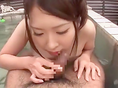 Fabulous Japanese slut Kyouko Maeda in Horny Outdoor, POV JAV movie