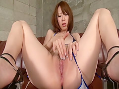Fabulous Japanese model Misato Sakurai in Incredible JAV uncensored MILFs video