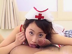 Horny Japanese whore in Best JAV uncensored Foot Job scene