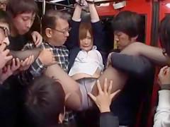 Hottest Japanese slut Momoka Haneda, Mamiru Momone, Fuuka Minase in Fabulous Squirting, Blowjob JAV scene