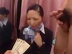 Hottest Japanese model Reiko Asahina, Aoki Misora in Incredible Voyeur, Stockings JAV video