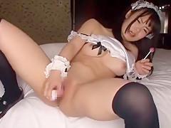 Best Japanese girl Sayaka Aishiro in Horny Masturbation, Dildos/Toys JAV scene