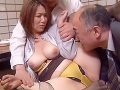Best Japanese slut Minori Makise, Chisato Shouda in Incredible Blowjob, Cunnilingus JAV video