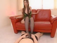 Best Japanese slut Yui Kasuga in Hottest Squirting, POV JAV movie