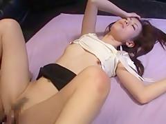 Exotic Japanese model Ai Himeno in Horny Threesomes JAV video
