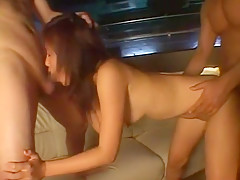 Best Japanese model Nana Nanami in Exotic Doggy Style, Cumshots JAV clip