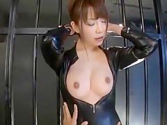 Horny Japanese slut in Hottest Fingering, Dildos/Toys JAV scene