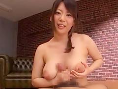 Horny Japanese chick Ai Hoshimiya in Fabulous POV, Cumshots JAV clip