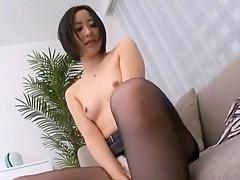 Best Japanese chick Jun Kiyomi in Crazy Dildos/Toys, Stockings JAV clip