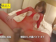 Fabulous Japanese whore Riona Suzune in Hottest Secretary, Cunnilingus JAV scene
