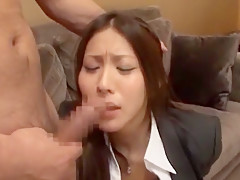 Hottest Japanese chick Riona Suzune in Crazy Facial, Dildos/Toys JAV scene