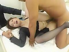 Fabulous Japanese chick Tohko Yamamoto in Exotic Handjobs, Fetish JAV clip