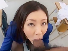 Horny Japanese model Kotone Amamiya in Fabulous Masturbation, Handjobs JAV clip