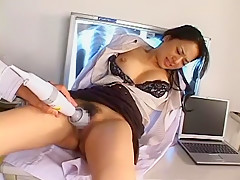 Horny Japanese chick Sora Aoi in Crazy Cunnilingus, Babysitters JAV movie