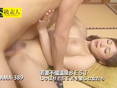 Best Japanese chick Riko Aduchi in Horny Stockings, Close-up JAV video