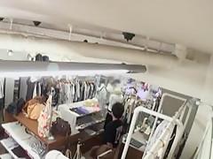 Horny Japanese model Maki Mitsuya, Sakura Kiryu, Nene Takeshima in Fabulous Changing Room, Fetish JAV video