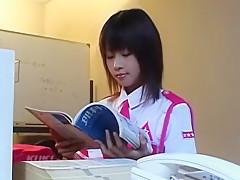 Crazy Japanese chick Aika Hoshizaki in Hottest Couple, Lingerie JAV video