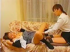 Hottest Japanese girl Hana Matsuzawa, Miu Soma, Junko Motojima in Fabulous Cunnilingus, Fingering JAV movie