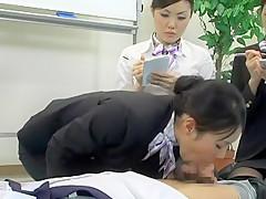 Crazy Japanese slut Maho Sawa, Rina Miue, Maki Sakashita in Amazing Office, Group Sex JAV video