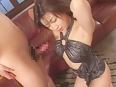 Fabulous Japanese model Emi Kitagawa in Hottest Handjob, Public JAV movie