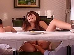 Fabulous Japanese girl Rio Kitajima in Horny Threesome, Public JAV video