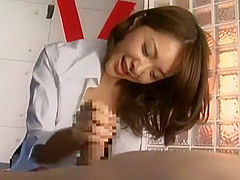 Exotic Japanese chick in Hottest Femdom, BDSM JAV movie