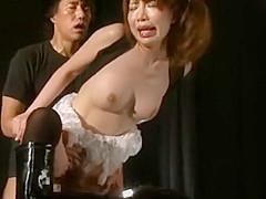 Best Japanese chick in Horny Public, Gangbang JAV clip